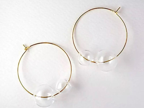 Glass Hoops
