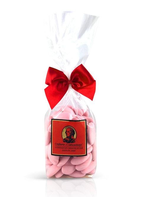 80 Dragées Rose Amandes Avola 180g