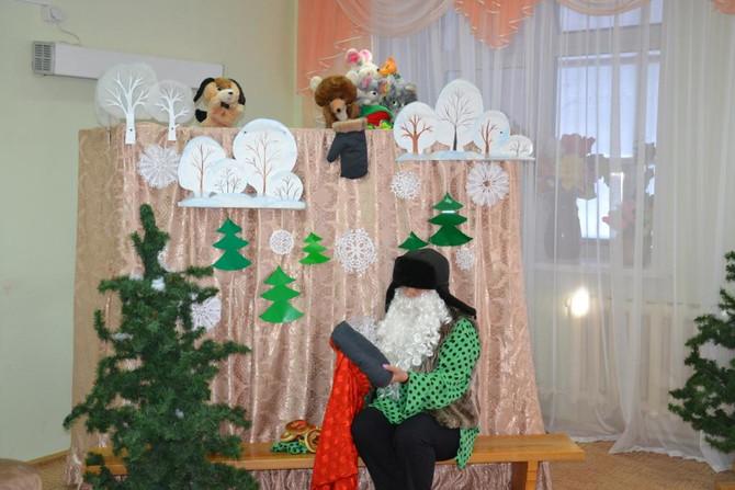 Кукольный спектакль по мотивам русской народной сказки «Рукавичка»