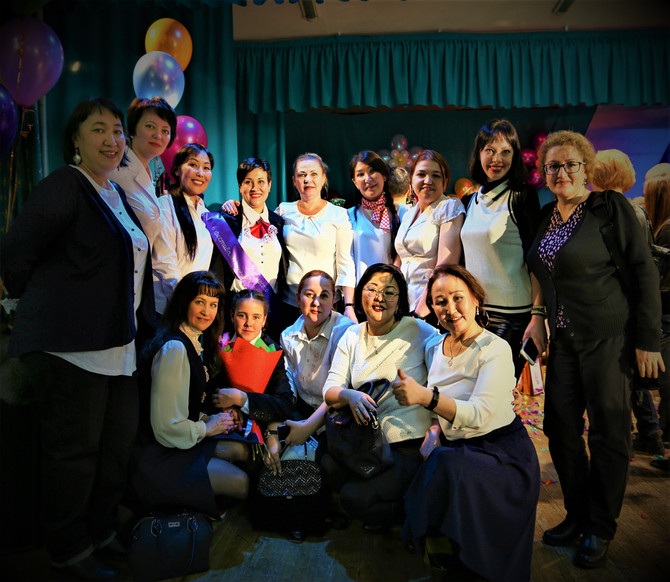 8 марта 2018 года. Поздравление женщин Центра