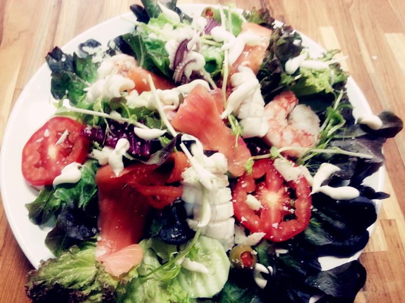 The Windmill Salad 150.-