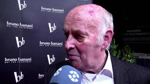 Moderation des Bruno Banani Jubiläums
