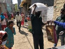Indien Verteilaktion COI