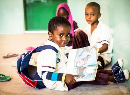 Tschad: Schulmaterial für Kinder