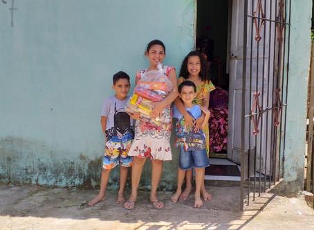 Brasilien: 50 Notpakete für Familien