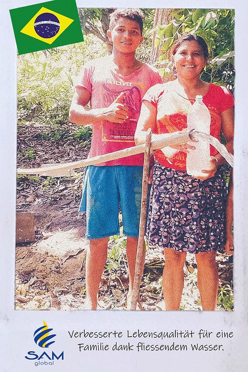 Wasser für eine Familie
