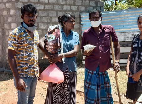 Sri Lanka: Essenspakete für hungerleidende Familien