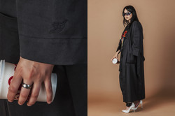 Kimono coeur diptyque