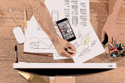 iphone-desk-computer-mac-mobile-writing-
