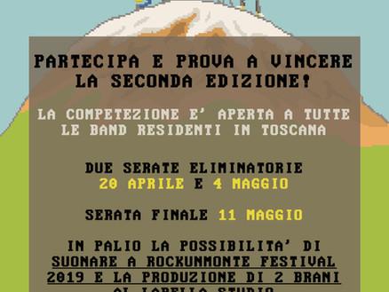 TORNA ROCKUNMONTE CONTEST 2019: SECONDA EDIZIONE!