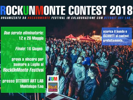 1^ edizione ROCKUNMONTE CONTEST