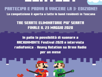 ROCKUNMONTE CONTEST 2020: LA 3^ EDIZIONE!