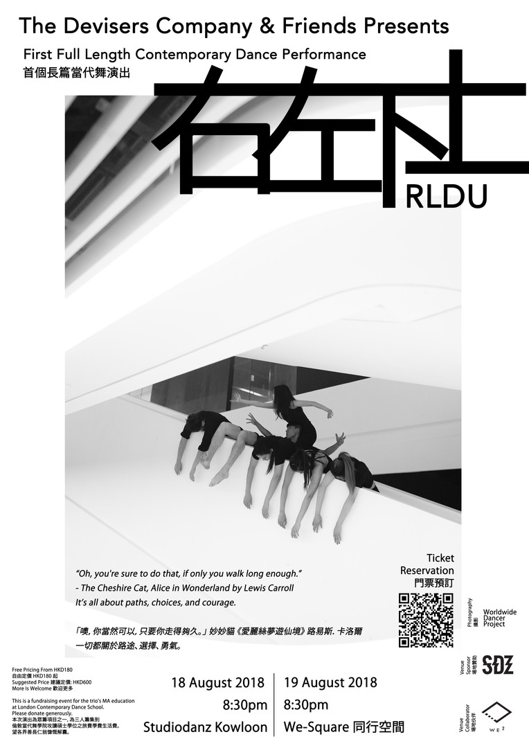 Poster of RLDU by Ghost and John