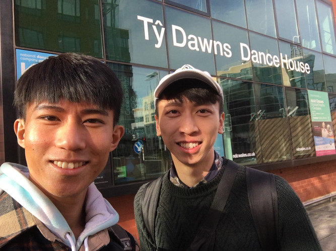 After meeting Jo Fong at Cardiff
