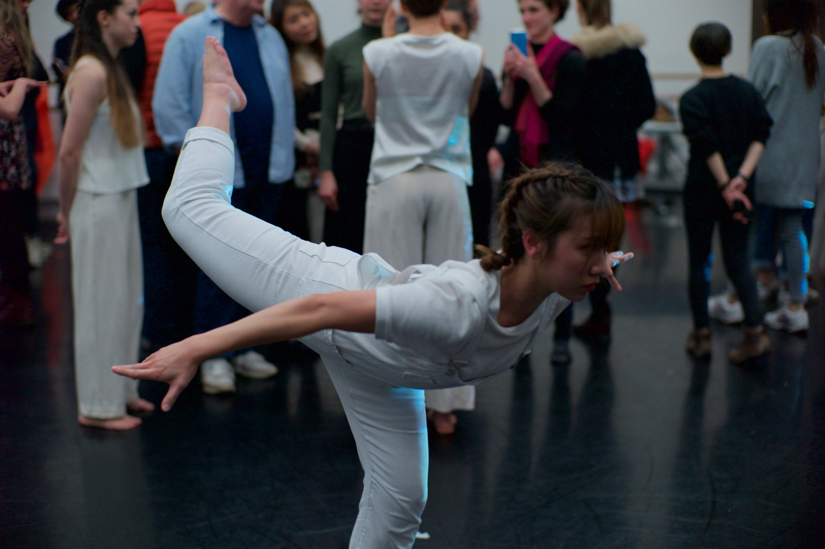 Meniscus by Ghost and John at Rambert, London