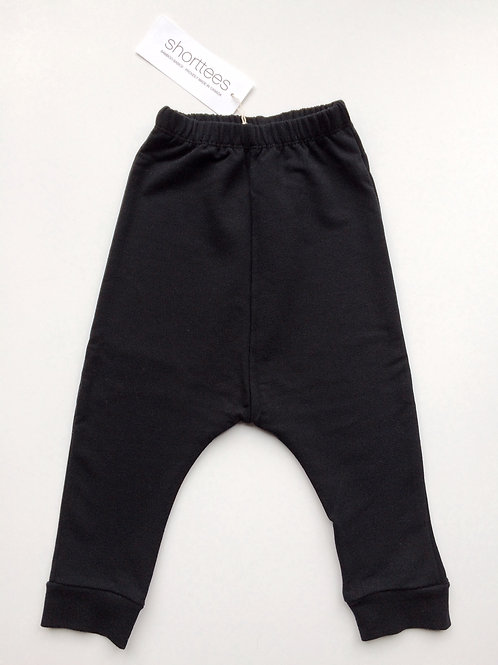 Harem Pant in Black