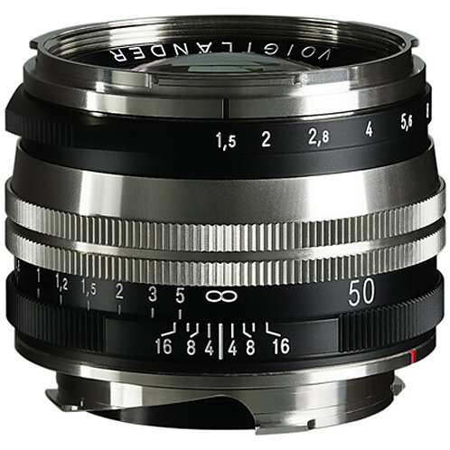 NOKTON Vintage Line 50mm F1.5 MC Aspheric II M-mount (Nickel)