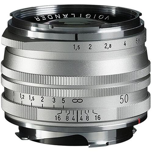 NOKTON Vintage Line 50mm F1.5 SC Aspheric II M-mount (Silver)