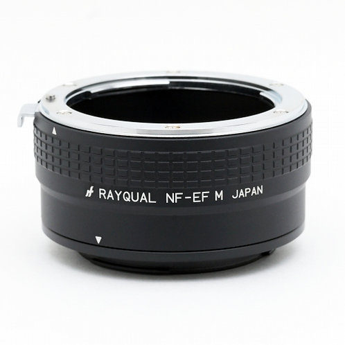 RAYQUAL Nikon F-mount lens to Canon EF-M-mount body adapter