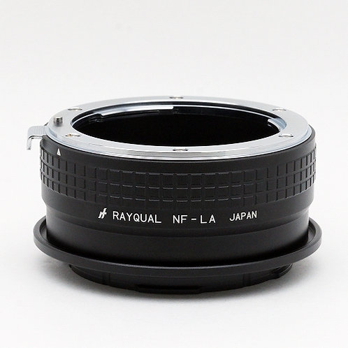 RAYQUAL Nikon F-mount Lens to L-mount body adapter