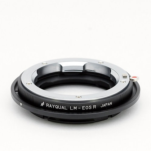 RAYQUAL Leica M-mount lens to Canon EOS R-mount body adapter