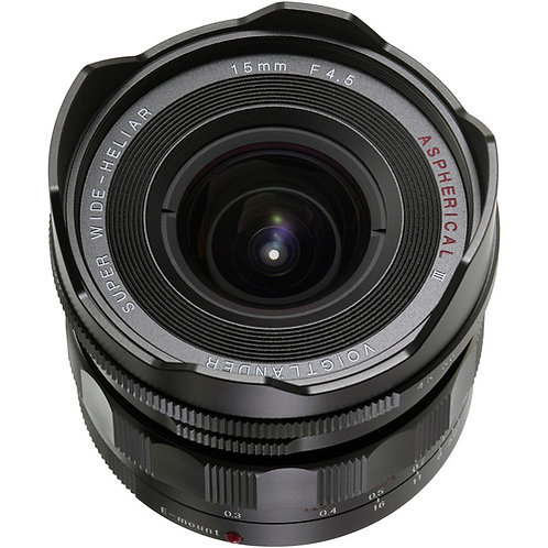 SUPER WIDE-HELIAR 15mm F4.5 Aspheric III E-mount