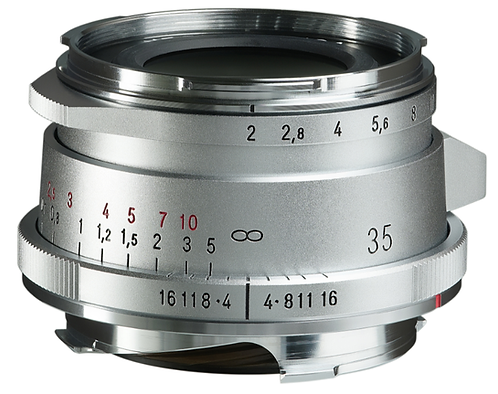 ULTRON Vintage Line 35mm F2 Aspheric Type II M-mount (Silver)