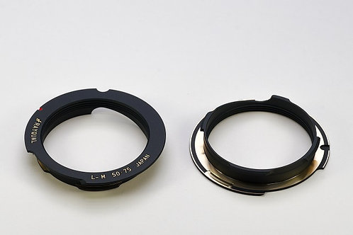 RAYQUAL Leica L39 screw-mount to Leica M-mount body adapter