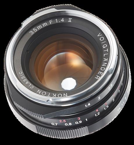 NOKTON classic 35mm F1.4 MC II M-mount