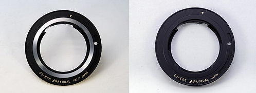 RAYQUAL Contax / Yashica C/Y Lens to Canon EOS (EF-S) body