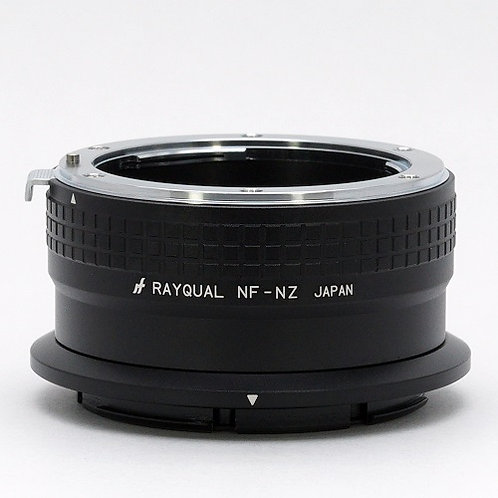 RAYQUAL Nikon F-mount lens to Nikon Z-mount body adapter