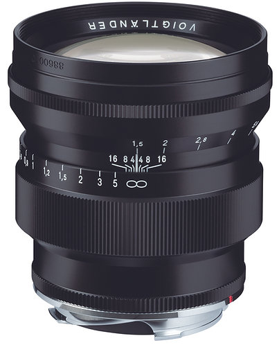 NOKTON Vintage Line 75mm F1.5 Aspheric M-mount (Black)