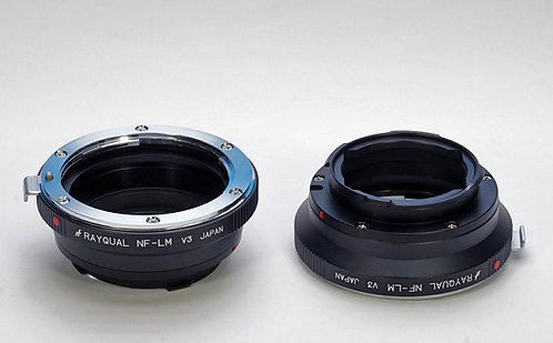 RAYQUAL Nikon F-mount lens to Leica M-mount body adapter