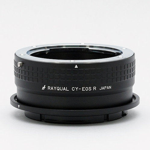 RAYQUAL C/Y-mount Lens to Canon EOS R-mount body adapter
