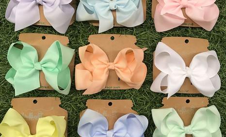 Pefect Pastel Bows