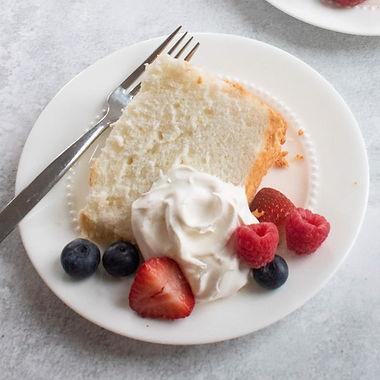 Diabetes-Friendly Angel Food Cake