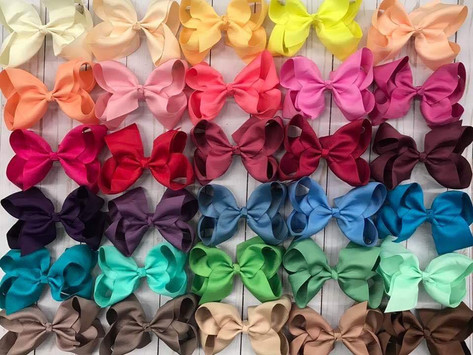 You want hairbows? We've got hairbows!