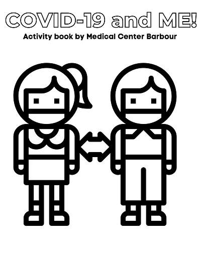COVID-19 Activity Book from Medical Cent