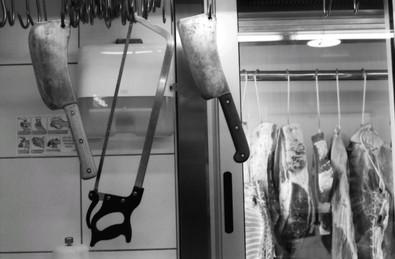 Butcher shop, Split, Croatia