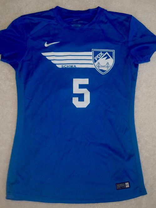 2016 Short-Sleeve Jersey (#5, Wilson-Moses) - Blue