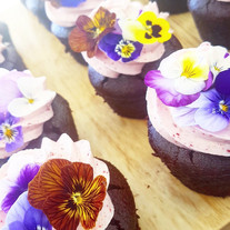 chocolate berry cupcakes