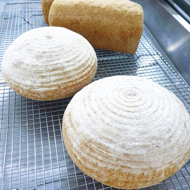 buckwheat cob loaf