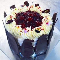 custom black forest cake
