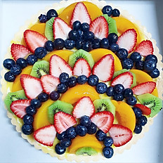 FAMILY CUSTARD FRUIT TART