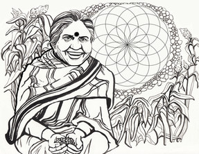 Vandana Shiva, seed shero and food activist