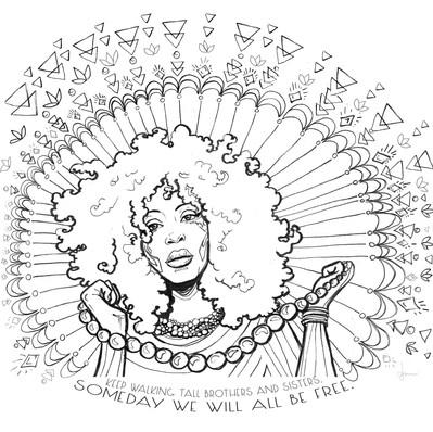 Erykah Badu, musician activist and visionary artist.