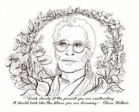 Alice Walker, writer, activist and visionary peacemaker.