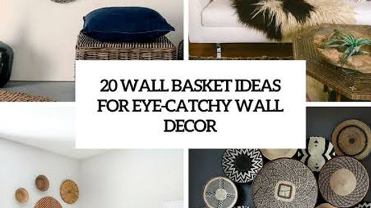 Wall Statement decorative baskets