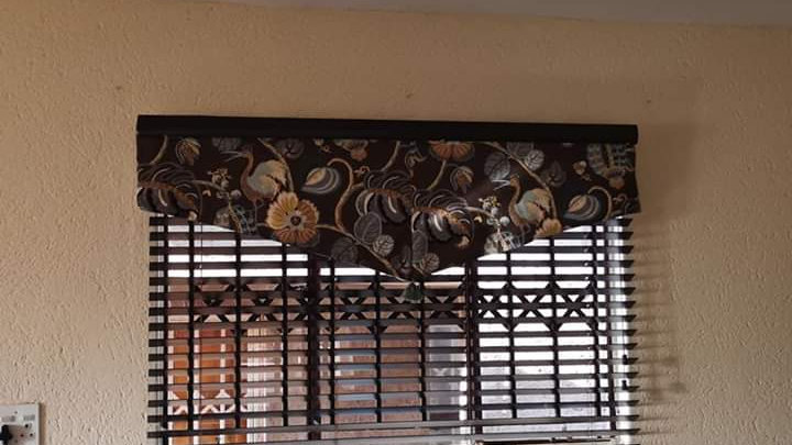 Over Blind Valance 1.5mt