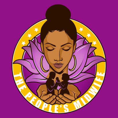 The People's Midwife Logo